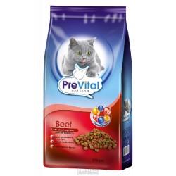 PreVital granule kočka 12kg hovězí+zelenina-11739