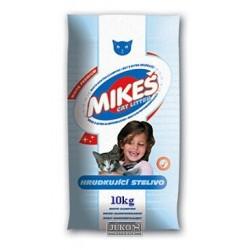 MIKEŠ Premium bílé hrudkující 10 kg - SLEVA 15 % (poškozený obal)