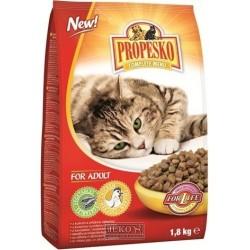 PROPESKO Cat kuřecí se zeleninou, granule 1,8 kg