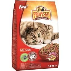 PROPESKO Cat hovězí se zeleninou, granule 1,8 kg
