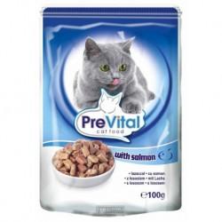 PreVital kapsa kočka losos 100g-10709-!CZ!