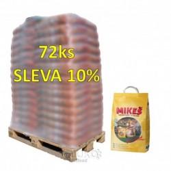 MIKEŠ Standard Natural hrudkující 10 kg (paleta 72 ks) SLEVA 10%