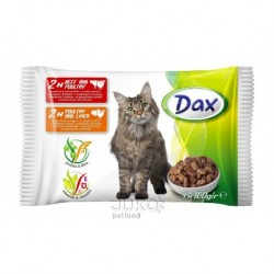 DAX kapsa CAT 4-pack 100g v omáčce-11988-!CZ!