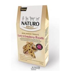 Naturo-snack Mini Treats--Liver&Cranberry 135g-12692-Exp 10/2018-Sleva 50%