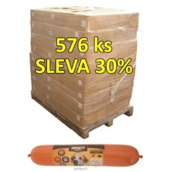 Smarty Exclus. salám KACHNÍ-duck1kg-pal.648ks-30%-12704