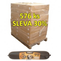 SMARTY exclusive Lamb, salám 1 kg (paleta 648 ks) SLEVA 30 %