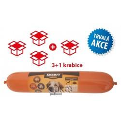 SMARTY exclusive Duck, salám 1 kg AKCE 54 + 18 ks ZDARMA