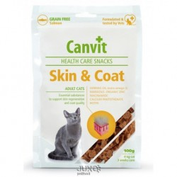 Canvit Snacks CAT Skin & Coat 100g-12851