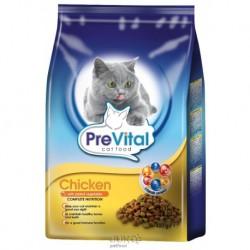 PreVital granule kočka kuřecí se zeleninou 0,4kg-12885