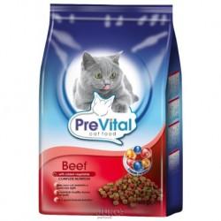 PreVital granule kočka hovězí se zeleninou 0,4kg-12886