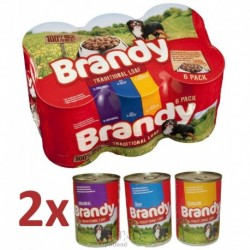 Brandy Variety Chunks in Loaf 395g/pack-12903