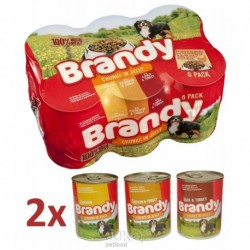 Brandy Mix Chunks in Jelly 395g/pack v ŽELÉ-12905-Expirace 9/2018-Sleva 50%