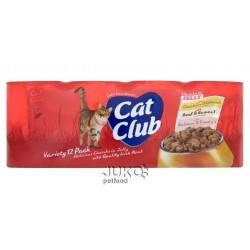Cat Club Mix Chunks in Jelly 400g (12pack) v ŽELÉ-12906
