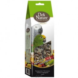 Deli Nature SNACK PARROTS-TROPICAL FRUIT MIX 130g-Velký Papoušek-Mix Tropické ovoce-Exp 2/2020