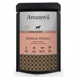 Amanova BIO Dog Salmon 150g SKIN&COAT GRAIN FREE-13150