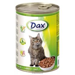 Dax Cat kousky králičí 415 g