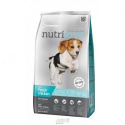 Nutrilove pes Junior Small & Medium fresh kuřecí, granule 1,6 kg