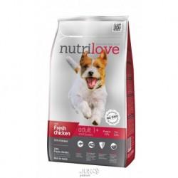 Nutrilove pes Adult Small fresh kuřecí, granule 1,6 kg