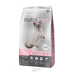 Nutrilove kočka granule STERILE fresh kuřecí 1,4kg-13210