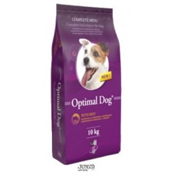 OPTIMAL DOG WITH BEEF 10kg-13278