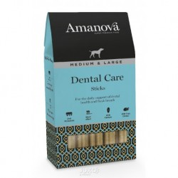 Amanova Dog Snack DENTAL CARE Sticks M&L 155g-13351-Expirace 9/18