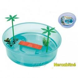 Terarium plast Tortuga Isle