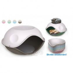 Duck Pillow-PL-jeskyně s polštářem-57x48x32h-20105