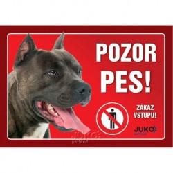samolepka-Pozor Pes-STAFORD-13629