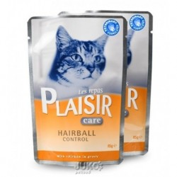Plaisir Care Cat kapsička 85g Hairball control-13661