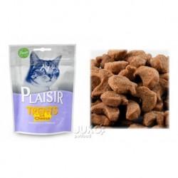 Plaisir Cat Treats pamlsek 60g se sýrem-13674-Exp 3/2019