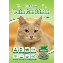 Smarty Tofu Cat Litter Green Tea podestýlka 6 l AKCE 5+1 ks ZDARMA