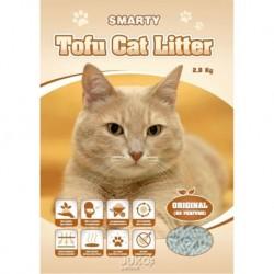 Smarty Tofu Cat Litter Original podestýlka bez vůně 6 l AKCE 5+1 ks ZDARMA