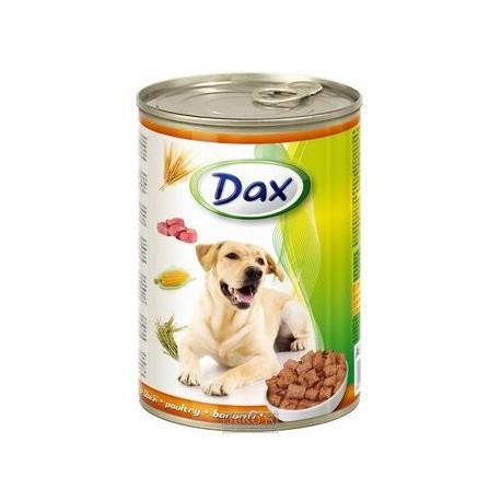 DAX kousky DOG DRŮBEŽÍ 415g-9527