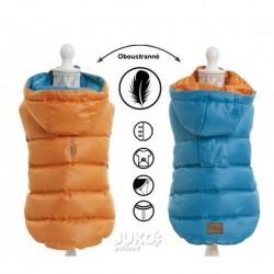 Obleček oboustranný light weight modrooranžová 40cm – 4826C