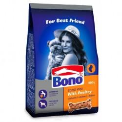 BONO Adult pes granule MINI drůbeží 400g-14026