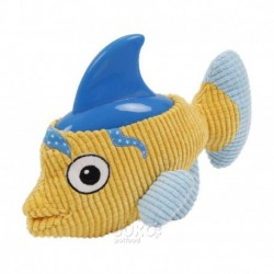 Plyšová hračka s gumou Ryba