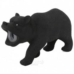 Latexový medvěd s pískadlem 15x5x9cm-14099