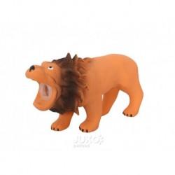 Latexový lev s pískadlem 16x5,5x9cm-14100
