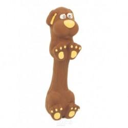 Latexová hračka s pískadlem-Jezevčík malý 13cm-14105
