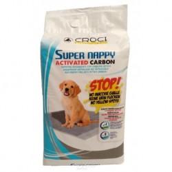 Návyková podložka Super Nappy-Carbon-30ks-84x57cm-8173C