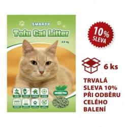 Smarty Tofu Cat Litter-Green Tea-podestýlka 6lt.-AKCE 10%-14702