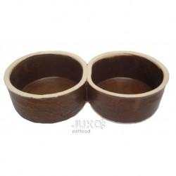 Miska keramická-DVOJ-2x0,5lt/pr.15cm-6076