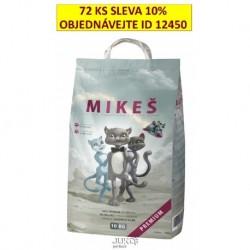 MIKEŠ Premium bílé hrudkující 10 kg