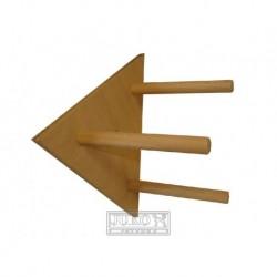 Trojúhelníkové bidlo-strana 18cm-8506-DOPR-AKCE