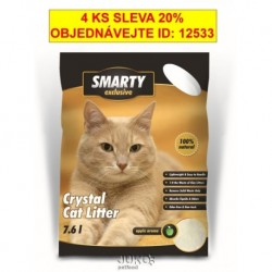 SMARTY EXCLUSIVE 7,6lt.silikátové stelivo-9247