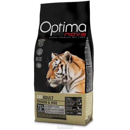 OPTIMAnova Cat Adult Chicken & Rice 400 g