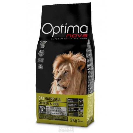 OPTIMAnova Cat Hairball 2 kg