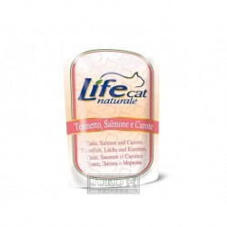 LifeCat Tuna & Salmon & Carrots kapsička 70 g