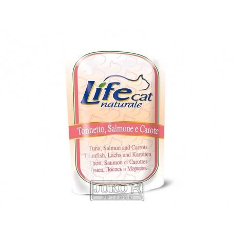 LifeCat Tuna & Salmon, kapsička 70 g