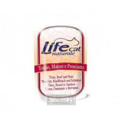 LifeCat Tuna & Beef & Ham kapsička 70 g